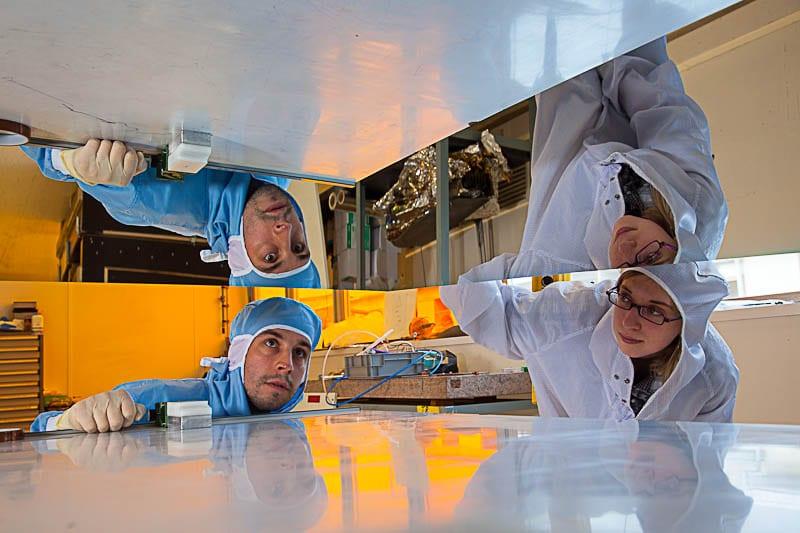 réfection de miroir pour les grands télescopes